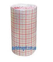 Пенополиэтилен 4 мм х 1м х 50м  ламинированный металлизированный с разметкой Теплоизол для теплого пола