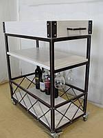 Передвижной сервировочный столик , фото 1