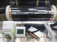 Нагревательная пленка 7 м.кв Hi Heat (Ю.Корея) комплект без терморегулятора