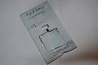 Пробник мужской туалетной воды Azzaro Chrome 1.2ml