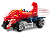 Хищник-мобиль Dragon Blaster со светом и звуком 13 см Hot Wheels (90571)