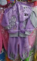 Теплый детский костюмчик Зайчик
