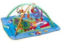 """Развивающий коврик с дугами """"Зоосад"""" для детей с рождения ТМ Tiny Love 1200206830"""