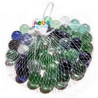 Камни для декора шарики перламутровые цветные d 1,5 см