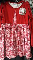 Детское платье с розовым болеро
