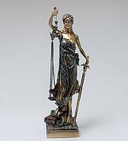 Напрольная статуэтка Фемида лучший подарок судье на 23 февраля.