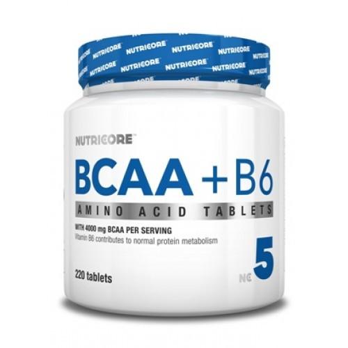 Nutricore BCAA  + B6 Nutricore 220 tab