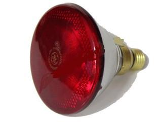 Інфрачервона лампа PAR38 230V, 175W E27/5000h, HELIOS (Польща)