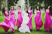 платья подружкам невесты трансформер 42, фото 1