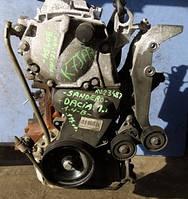 Двигатель K7J 710  55кВт без навесногоDasiaLogan 1.4 8V2004-2009