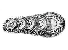 Щетка дисковая для сварщиков Lessmann 115х6 мм стальная проволока