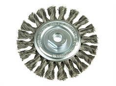 Щетка дисковая Lessmann 115х22,2 мм нержавеющая проволока