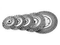 Щетка дисковая для сварщиков Lessmann 125х6 мм стальная проволока