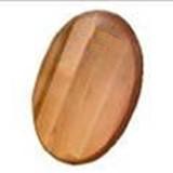 Доска 450*250*16мм деревянная овальна Кедр
