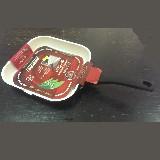 Сковорода для гриля 250*250мм с керамическим покрытием