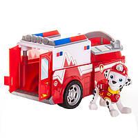 Щенячий патруль фигурка спасателя Маршала Marshall´s Firetruck, Vehicle and Figure