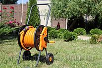 Тележка №3501 и Шланг поливочный Orange Professional 3/4 40 м Tecnotubi Италия