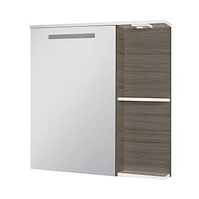 Зеркальный шкаф Ювента Sofia Nova СнШНЗ-75 Grey-brown