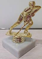 Золотой хоккеист. Наградная атрибутика.