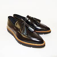 Итальянские женские кожаные туфли от TM OVYE