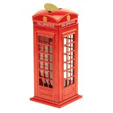 Копилка телефонная будка London