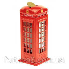Копилка телефонная будка London, фото 2