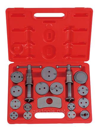 Набор инструмента для ремонта тормозных цилиндров 18 пр. FORCE 65805, фото 2