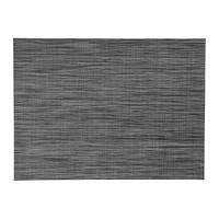 "IKEA ""СНУББИГ"" Салфетка под прибор, темно-серый, 45x33 см"