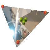 Пластина треугольник Steelay