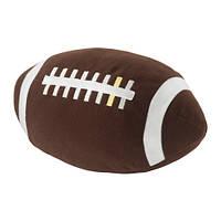 """IKEA """"ОНСКАД"""" Мягкая игрушка, Американский футбол, коричневый"""
