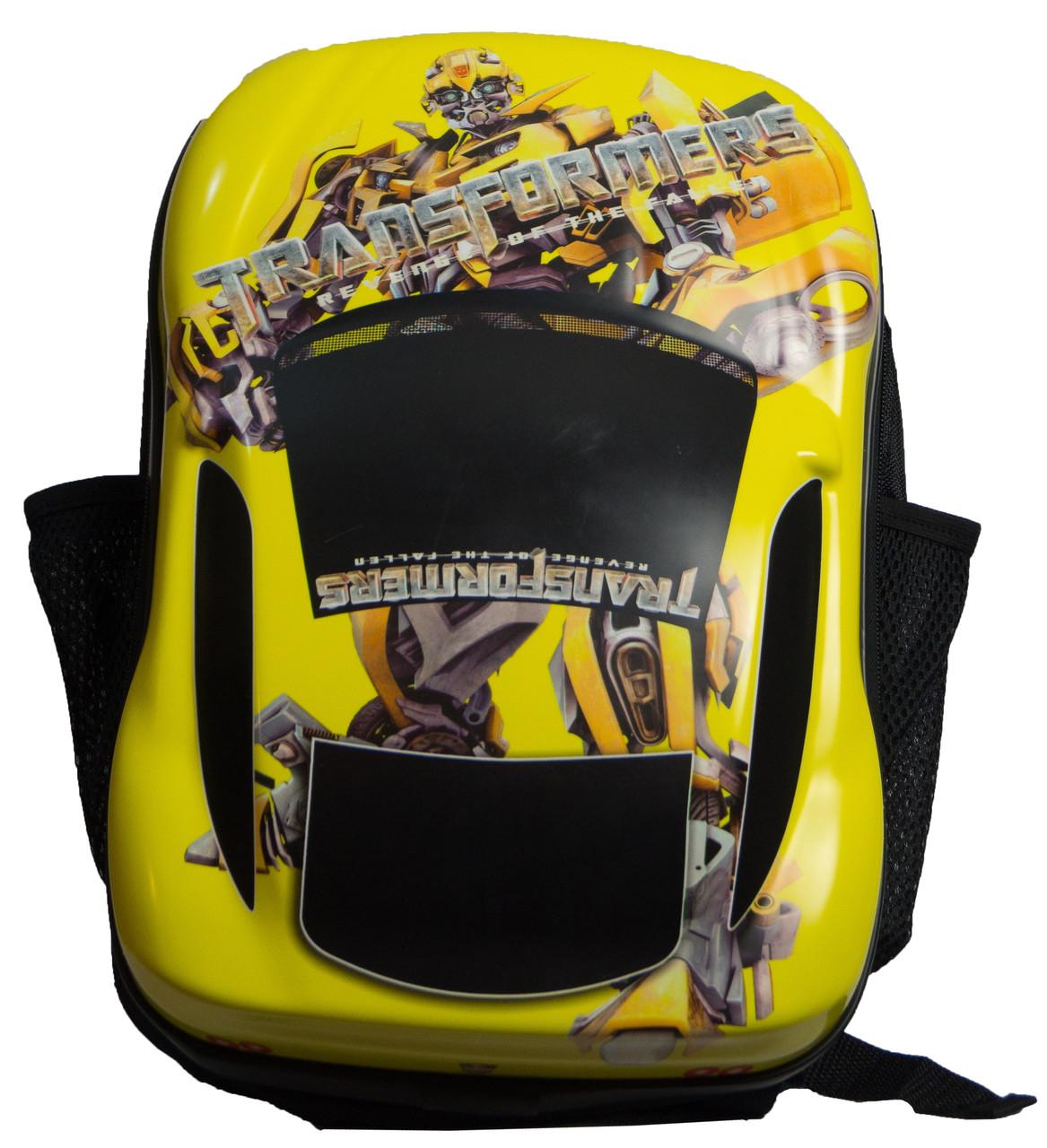 Рюкзак для гонщика до набору Backpack set for Car yellow
