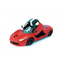 Машина с механизмом подъема дверей, на аккумуляторах, р/у, Цвет Красный