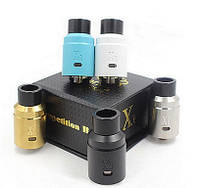 Дрип-атомайзер Vaperz Cloud X1 RDA 24мм (clone) стальной