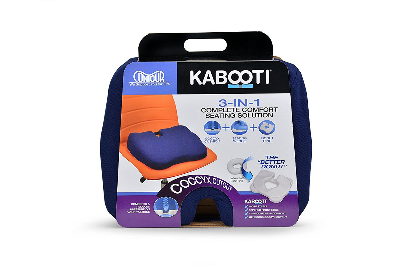 Ортопедическая подушка для сидения Kabooti (синяя)