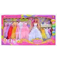 Игровой набор кукла с одеждой 8027 Defa