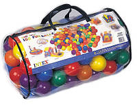 Набор цветных мячей Intex 49600