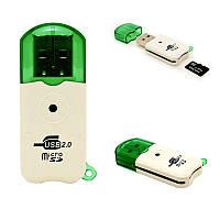 НОВЫЙ Портативный USB 2.0 Адаптер Micro SD SDHC Устройство Чтения Карт Памяти/Записи Флэш-Накопитель usb Card