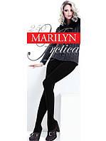 Теплые махровые колготки из хлопка и шерсти Marilyn ARCTIKA 250
