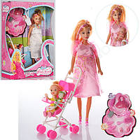Игровой набор Беременная кукла с аксессуарами 88076-1