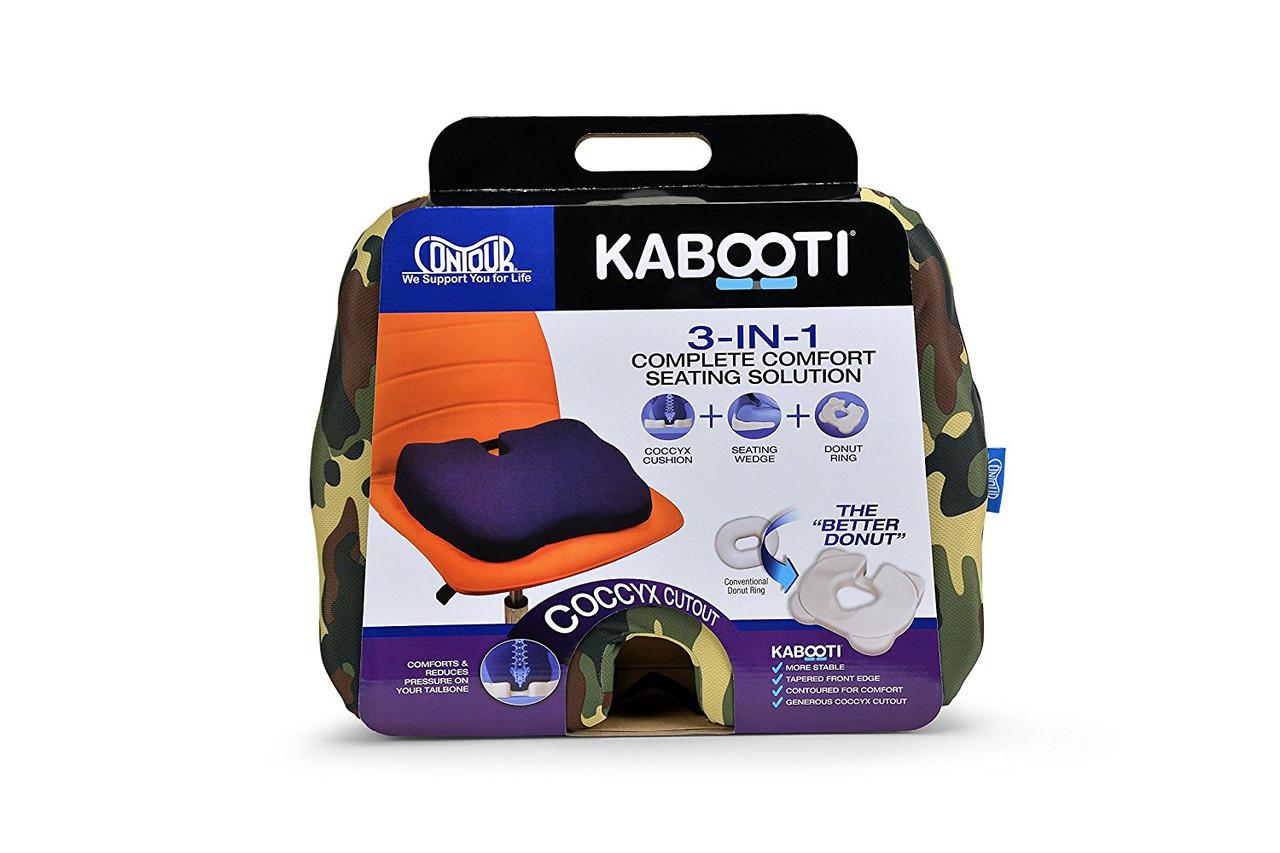 Ортопедическая подушка для сидения Kabooti (камуфляжная)