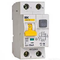 Автоматический выключатель дифференциального тока АВДТ32  C6  30мА ИЭК