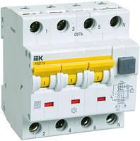 Автоматический выключатель дифференциального тока АВДТ34 C25 100мА ИЭК