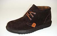 Замшевые зимние мужские ботинки ТМ Bistfor мод 62400