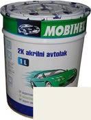 Автокраска (автоэмаль) Mobihel акрил 0,75л 201 Белая.