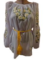 "Жіноча вишита блузка ""Ніжні ромашки"" (Женская вышитая блузка ""Нежные ромашки"") BN-0003"