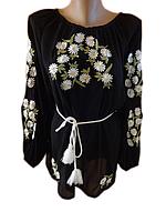 """Жіноча вишита блузка """"Чарівні ромашки"""" (Женская вышитая блузка """"Волшебные ромашки"""") BN-0004"""