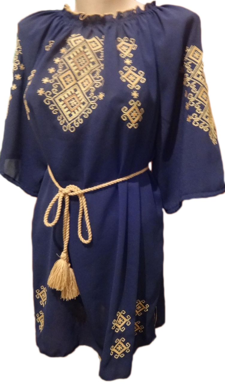 Жіноча вишита сорочка (блузка) з орнаментом (Женская вышитая рубашка (блузка) с орнаментом)  BN-0012