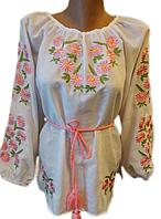 """Жіноча вишита блузка """"Казкові ромашки"""" (Женская вышитая блузка """"Сказочные ромашки"""") BN-0017"""