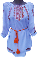 """Жіноча вишита блузка """"Сонячний орнамент"""" (Женская вышитая блузка с """"Солнечный орнамент"""") BN-0025"""