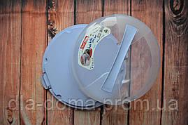 Тортовница пластиковая с крышкой на защёлках